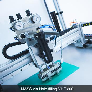 MASS via Hole Filling VHF 200 CCI